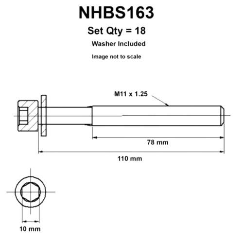 small resolution of head bolt set suit nissan navara d22 2 5l 4cyl t diesel yd25ddti 1 2007 12 2015 nason