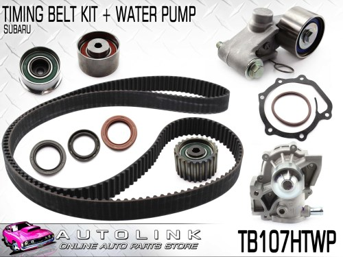 small resolution of timing belt kit water pump suit subaru outback bh bp 2 5l ej25 1998 2009
