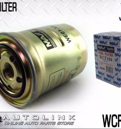 wesfil diesel fuel filter suits mazda 6 gg gh gj gy 4cyl t diesel 10 2006 6 2016 [ 1600 x 1200 Pixel ]