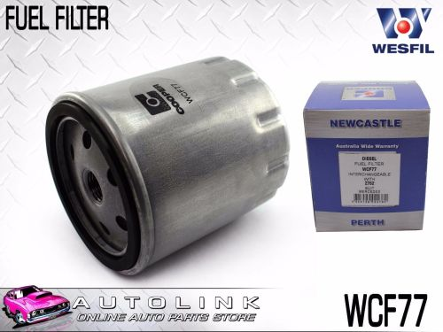 small resolution of wesfil diesel fuel filter wcf77 suits mercedes mb100d w631 2 3l 2 9l 1999 2005