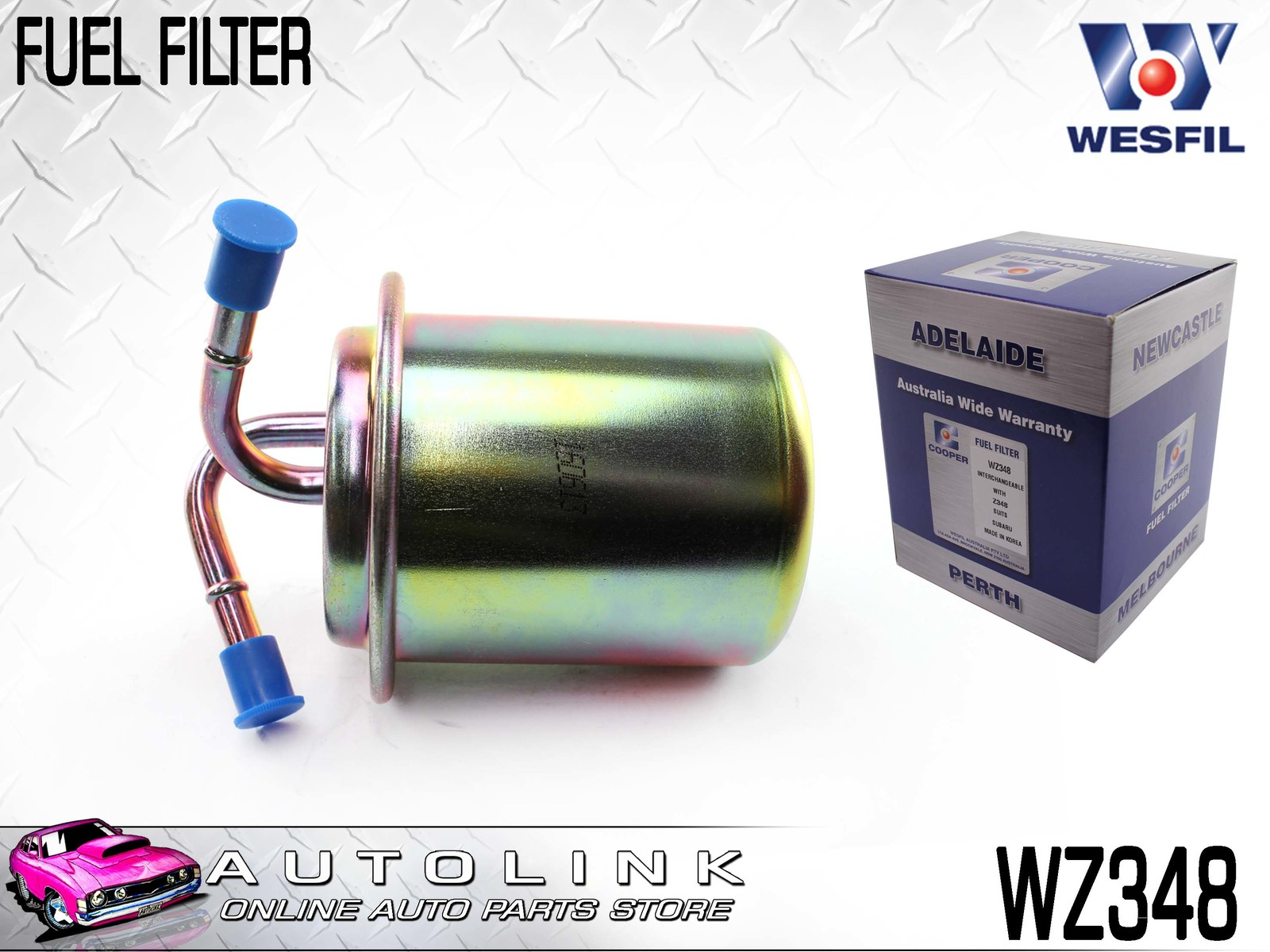 hight resolution of wesfil fuel filter suits subaru liberty bs bd bf bg flat4 1989 1998 wz348
