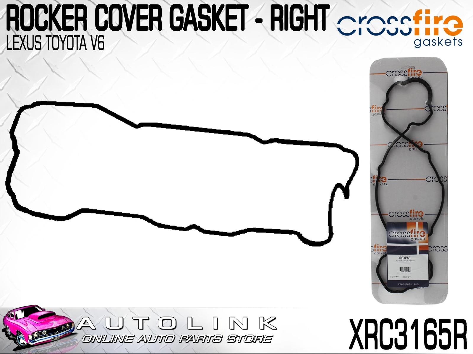 hight resolution of details about rocker cover gasket right side toyota kluger mcu28 3mz fe v6 2003 07 xrc3165r