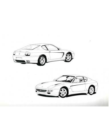 1993 FERRARI 456 GT OWNERS MANUAL