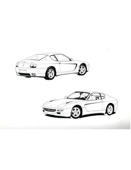 1993 FERRARI 456 GT INSTRUCTIEBOEKJE