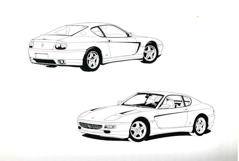 1993 FERRARI 456 GT OWNERS MANUAL