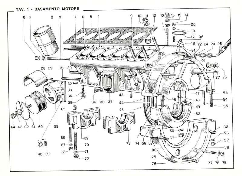 1968 FERRARI 365GT 2+2 SPARE PARTS CATALOG