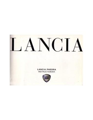 2002 LANCIA PHEDRA & CONNECT NAV+ OWNERS MANUAL HANDBOOK