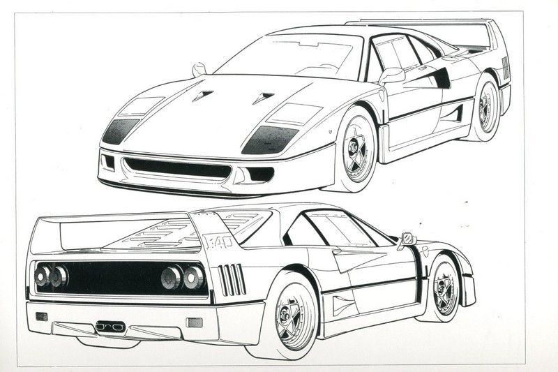 1990 FERRARI F40 OWNERS MANUAL HANDBOOK U.S. VERSION 606/90