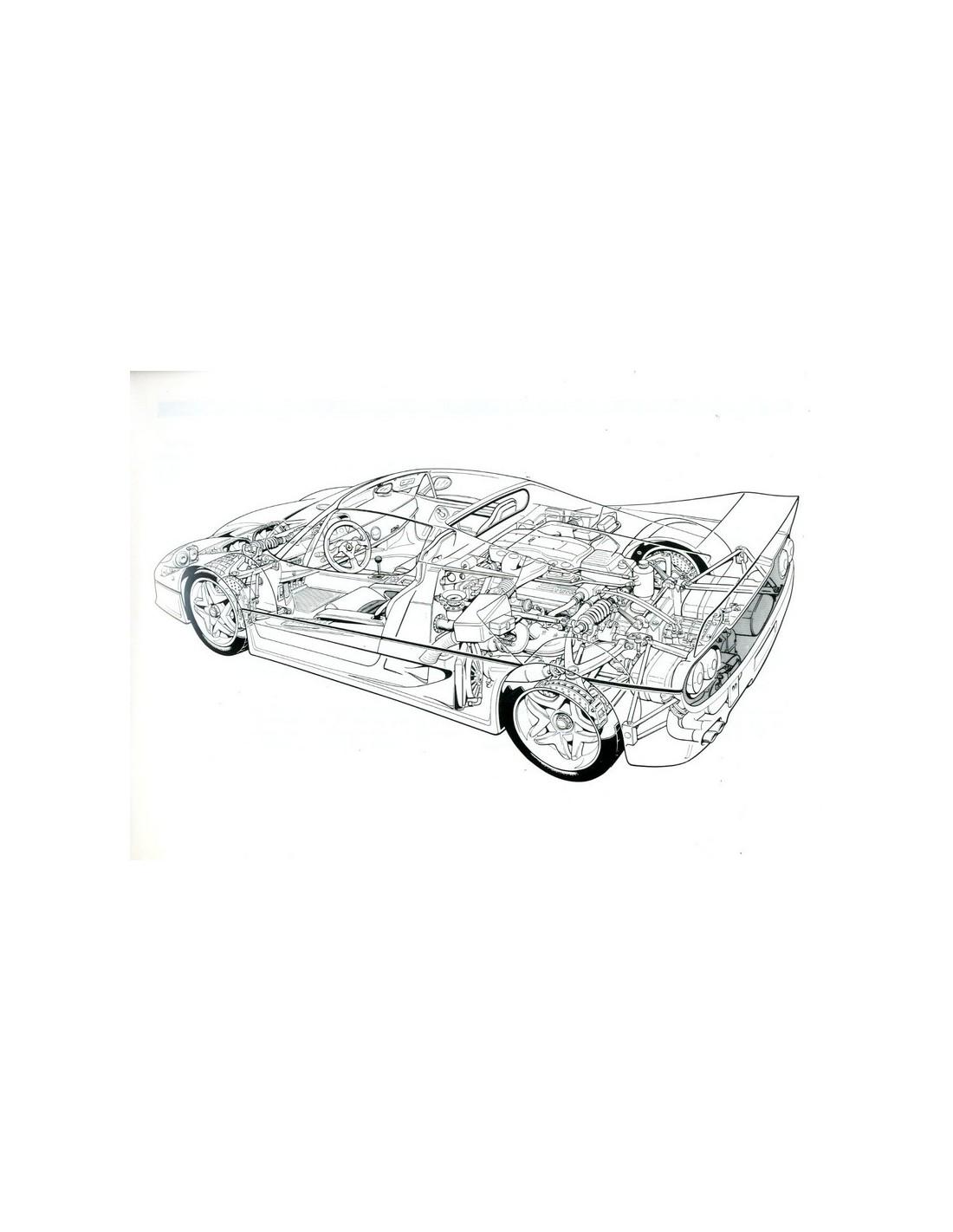 1995 FERRARI F50 BETRIEBSANLEITUNG 1034/95