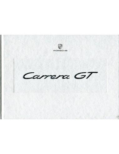 2003 PORSCHE CARRERA GT HARDCOVER BROCHURE GERMAN