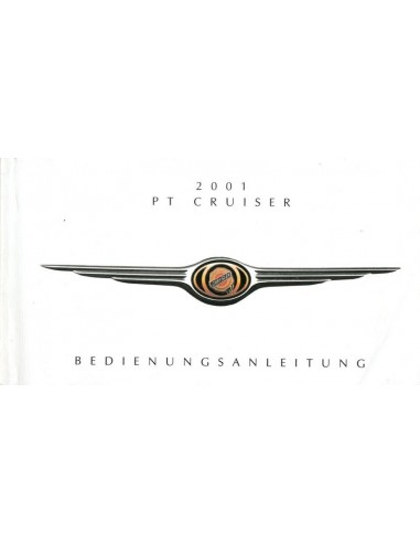 2001 CHRYSLER PT CRUISER OWNER'S MANUAL GERMAN
