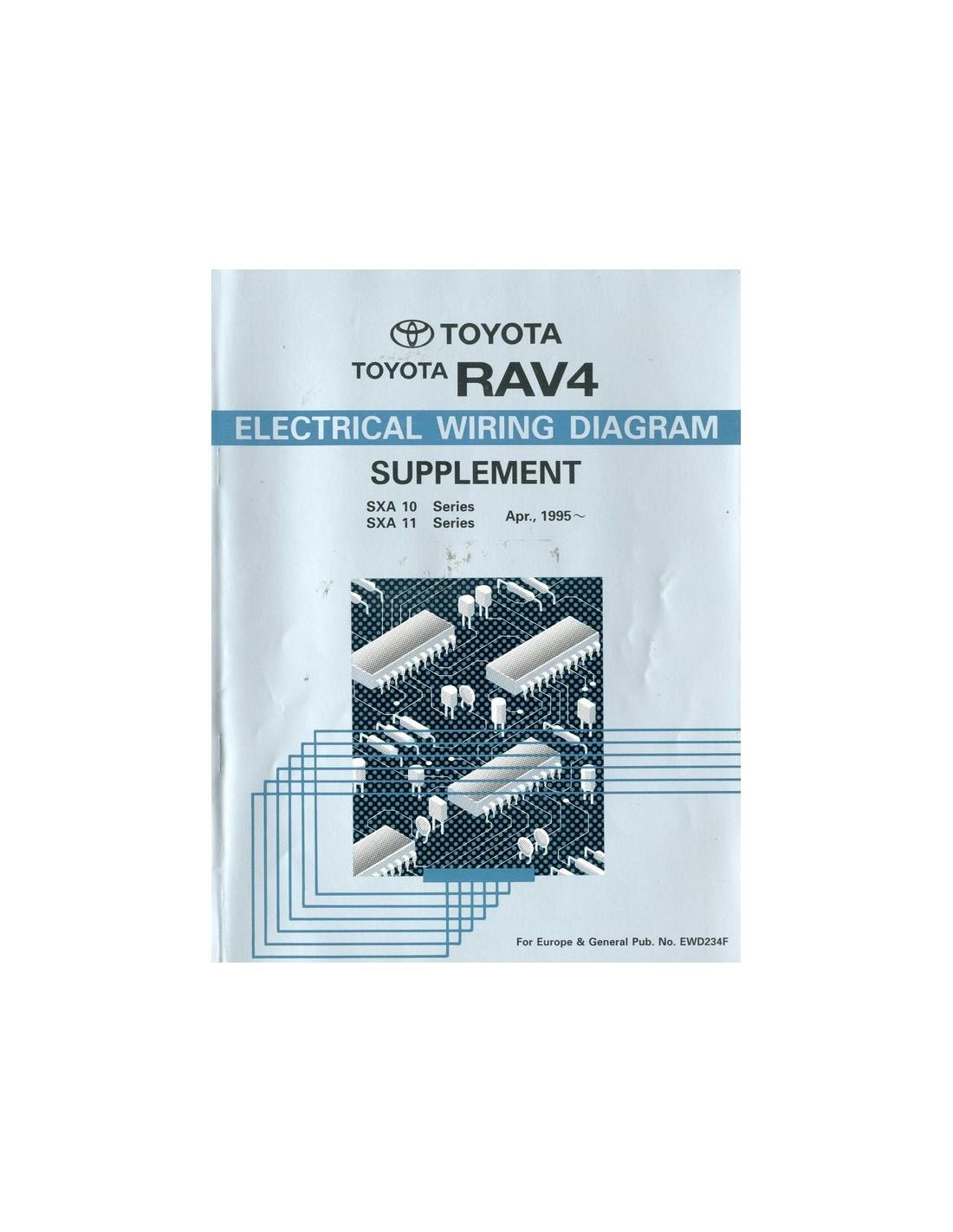 toyota rav4 parts diagram 1996 4runner wiring 1995 electrical workshop manual english