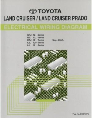 2002 TOYOTA LANDCRUISER  PRADO ELECTRICAL WIRING DIAGRAM