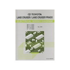 1970 Toyota Land Cruiser Wiring Diagram 2005 Nissan Frontier 2002 Landcruiser Prado Electrical Workshop Manual English