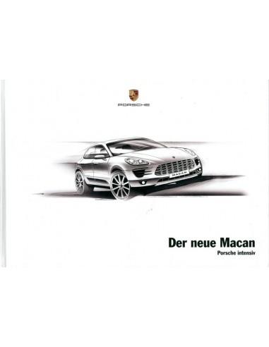 2013 PORSCHE MACAN HARDCOVER BROCHURE GERMAN