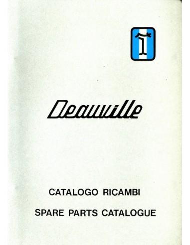 1973 DE TOMASO DEAUVILLE SPARE PARTS MANUAL ITALIAN & ENGLISH
