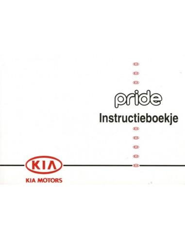 1995 KIA PRIDE OWNER'S MANUAL DUTCH