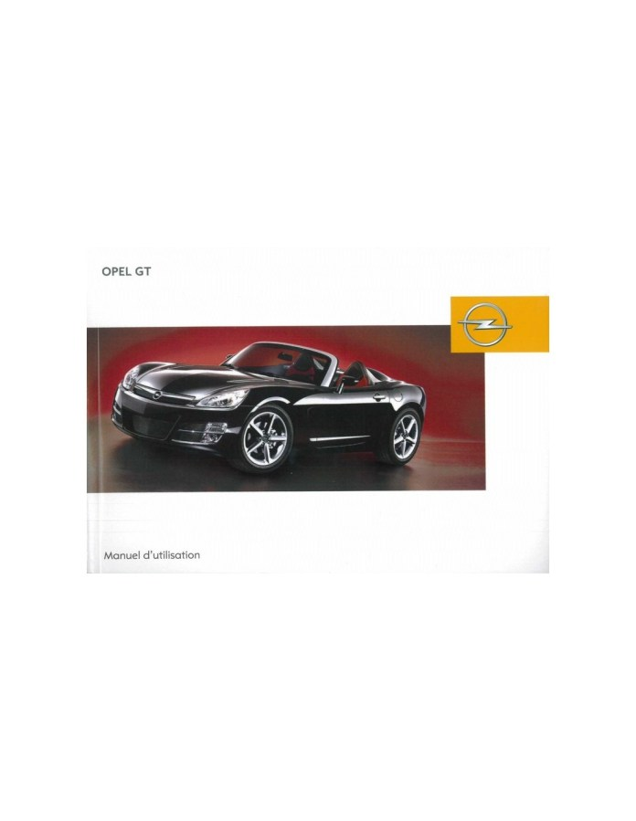 2007 Opel Gt Owner S Manual French