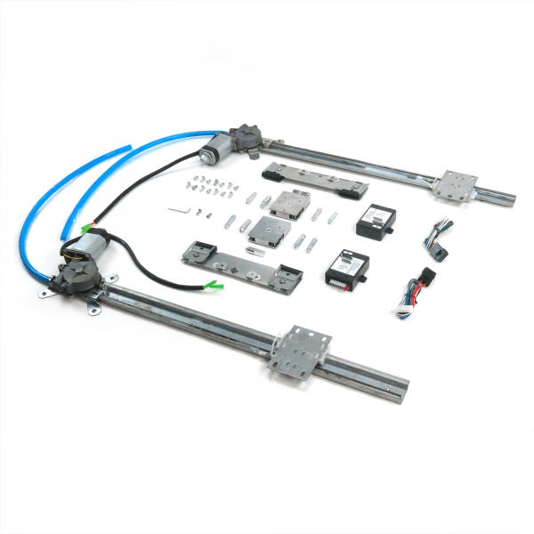 2 Door Flat Power Window Kit with Crank Switches « autoloc.com