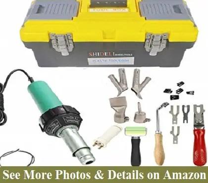 Go2Home 1600W Plastic Welder Kit Hot Air Gun