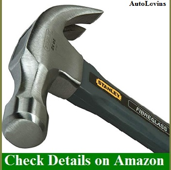 Stanley 51-627 20 Ounce Grey Fiberglass Hammer