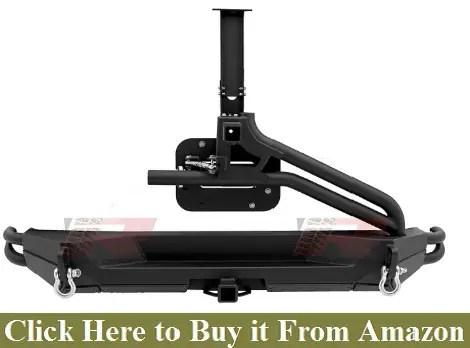 Razer Auto Black Rock Crawler Rear Bumper