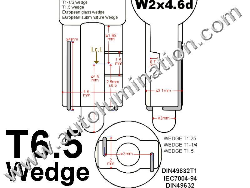 Autolumination Twist Lock Base Socket Plug Connector