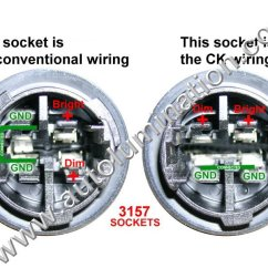 2003 Vw Jetta Tail Light Wiring Diagram Kenwood Dnx5140 Autolumination 3156 3157 4157 Selection Troubleshooting And Installtion Tips