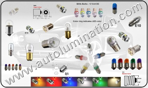 small resolution of car automotive replacement led light bulbs h6w 5007 1003 1895 1004 67 ba9s 64132 3497 5008