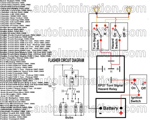 small resolution of led flashers electronic flashers led protectors load 1996 chevy pickup wiring diagrams 1996 s10 2 2l