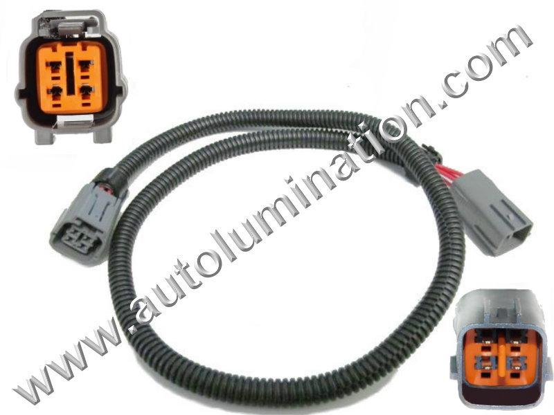 denso 4 wire o2 sensor wiring