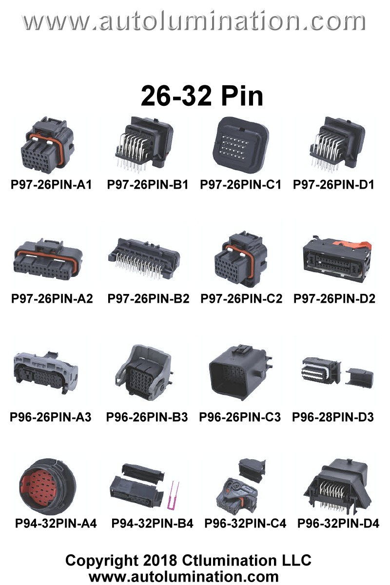 Connector Kit Automotive 20, 23, 24, 26, 28, 32, 33, 34