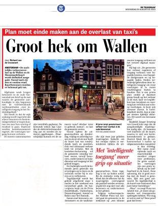 Telegraaf 19 augustus 2020