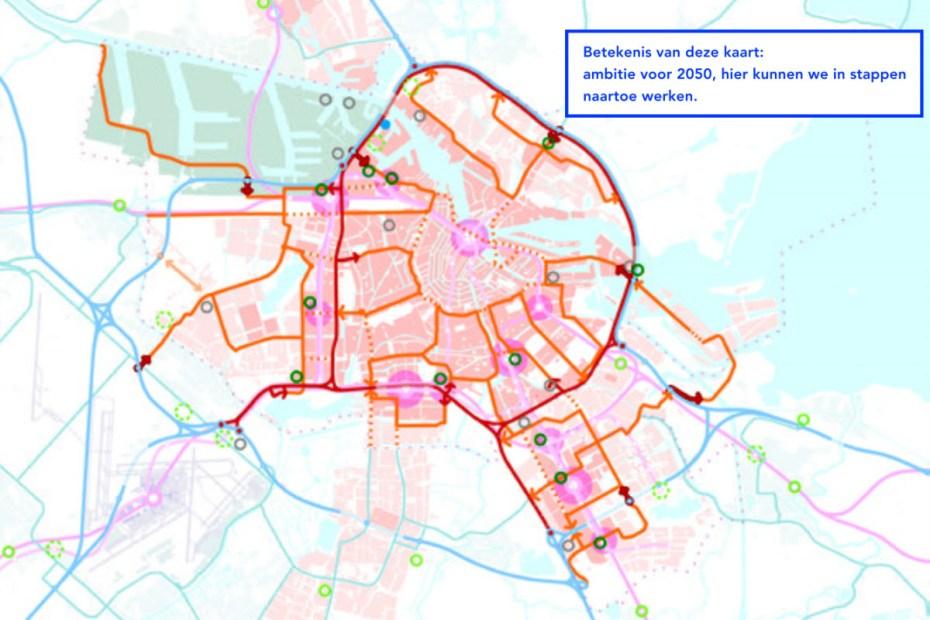 Ontwerp-omgevingsvisie 2050 | Verkeer