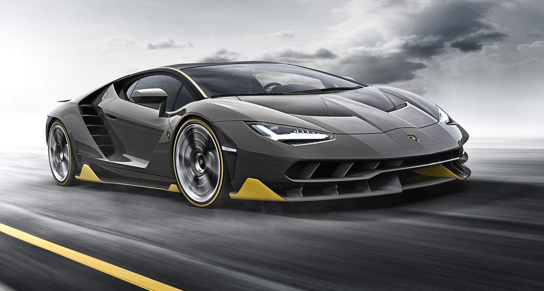 Lamborghini Centenario Exhaust