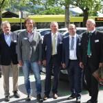 Die Pioniere von Green Energy in Tirol: Mag. Ewald Perwög, Mag Richard Neumann, Mag. Roland Punzengruber, Dr. Ernst Fleischhacker