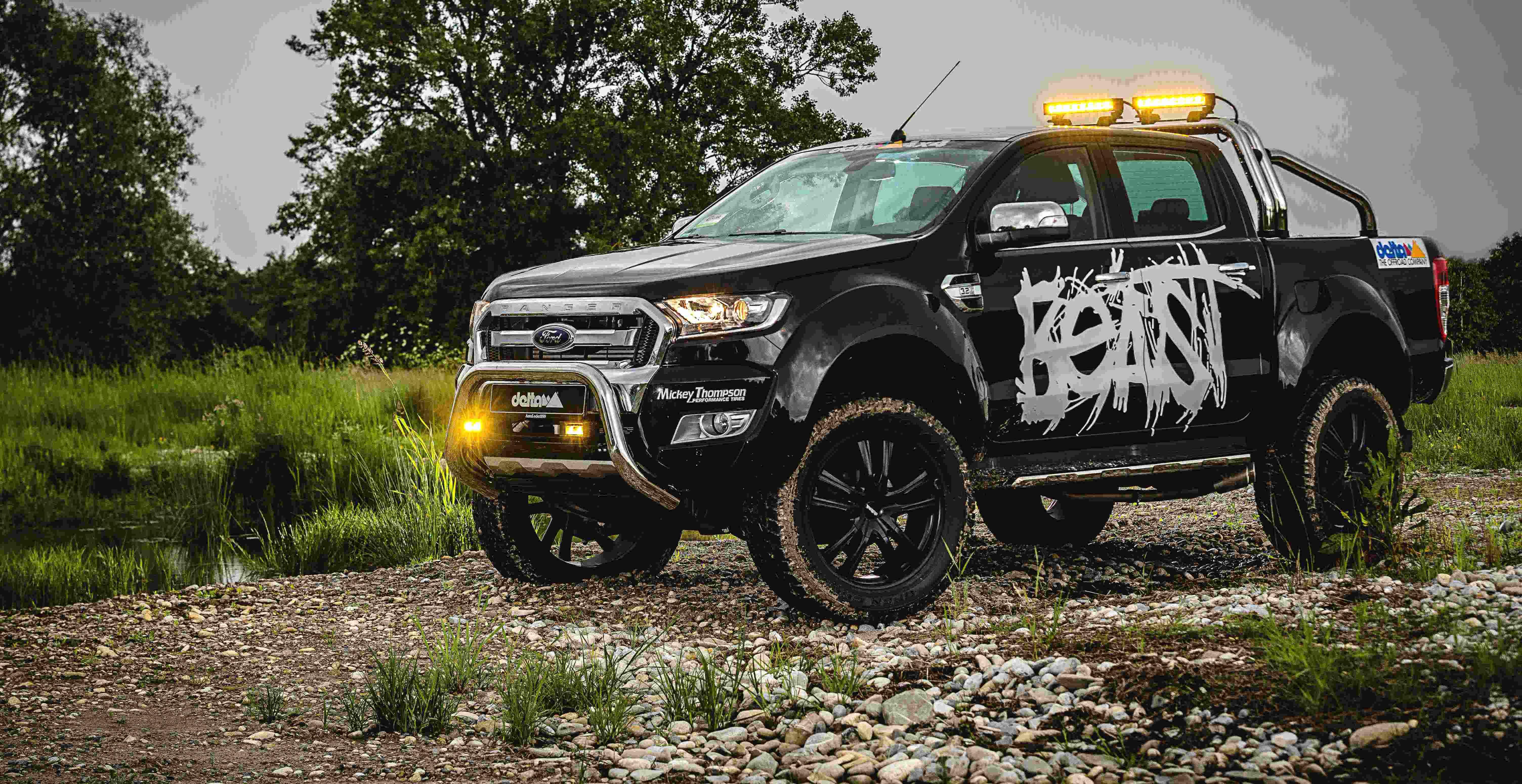 Delta4x4 Ford Ranger Das Biest Der Neue 2016 Ist Mit Gelandetauglicher Stabilitatskontrolle Optionalem OffRoad Paket Berganfahrassistent Und