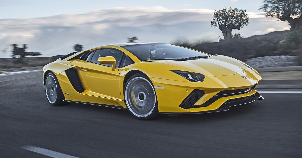 Lamborghini Aventador Ps