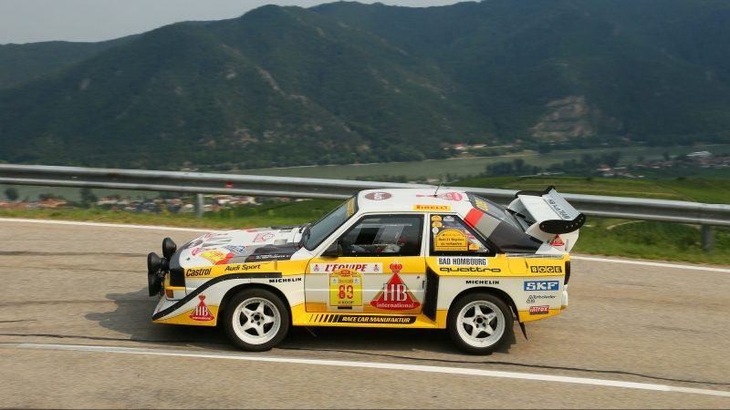 Rallyelegenden Gruppe B 2018 - Audi S1
