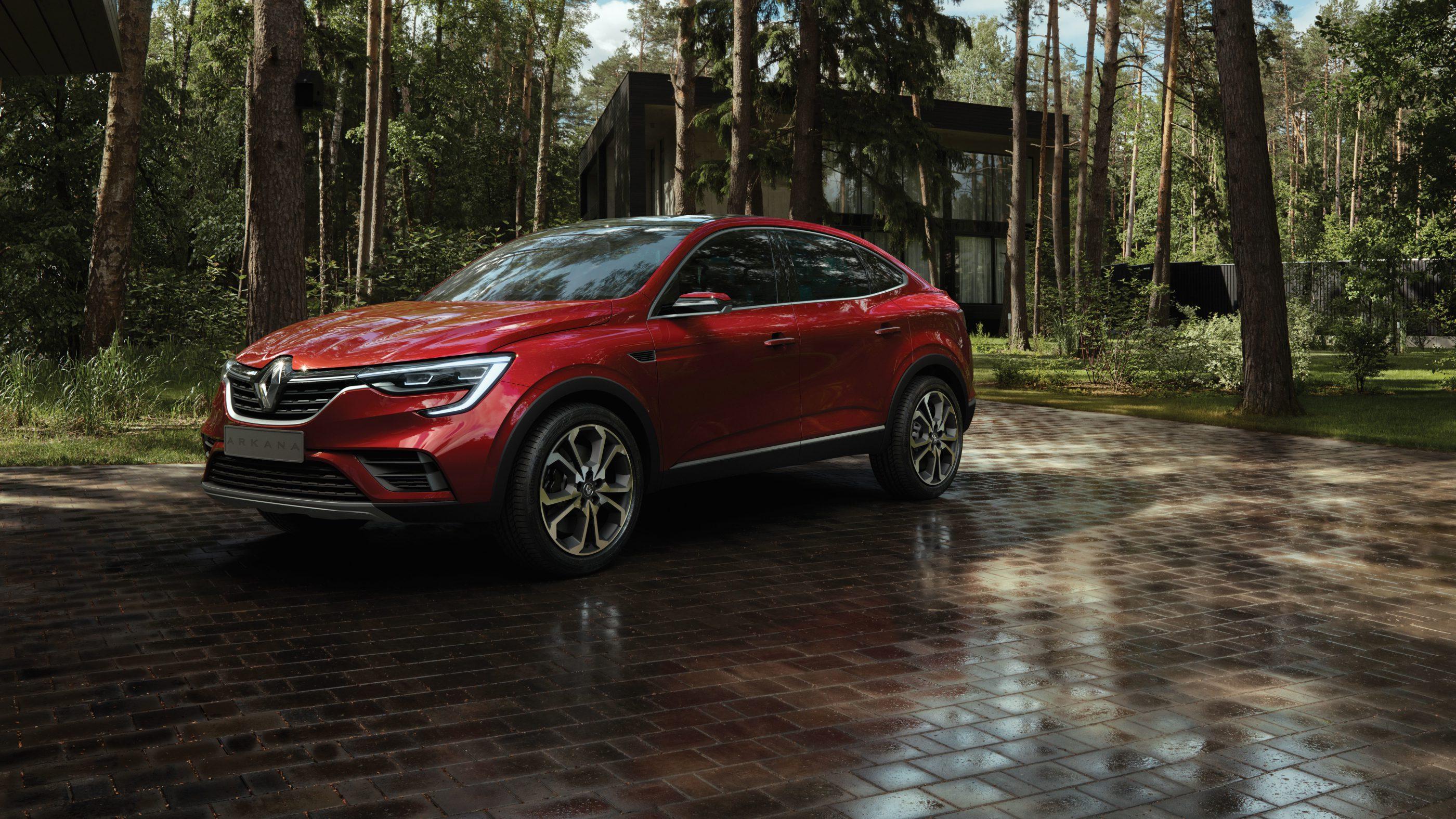 Renault Arkana Studie Moskau_vorne