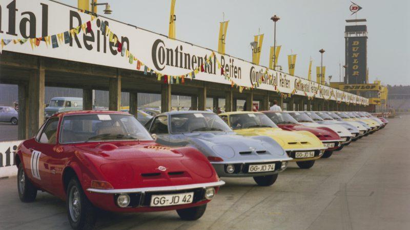 Opel GT Grand Tour 2018 - 1968 Hockenheim