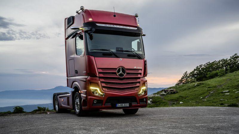 Mercedes-Benz Actros neu 2018