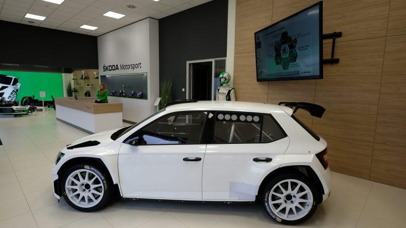 Neue Zentrale für Škoda Motorsport