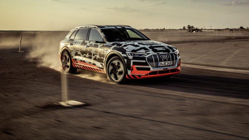 Audi e-tron Vorstellung Namibia_Fahren