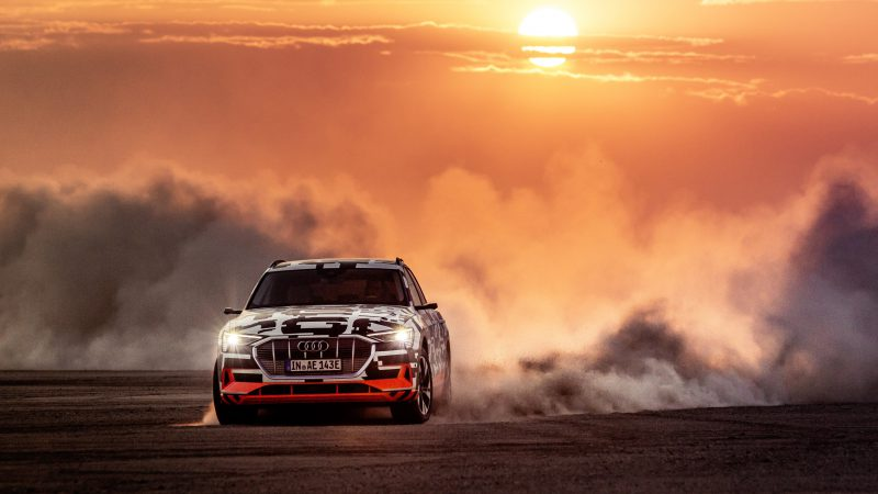 Audi e-Tron in Namibia_Schaeffler-Getriebe