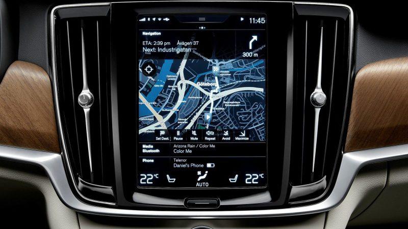 Volvo Infotainment-Wireless Car VW