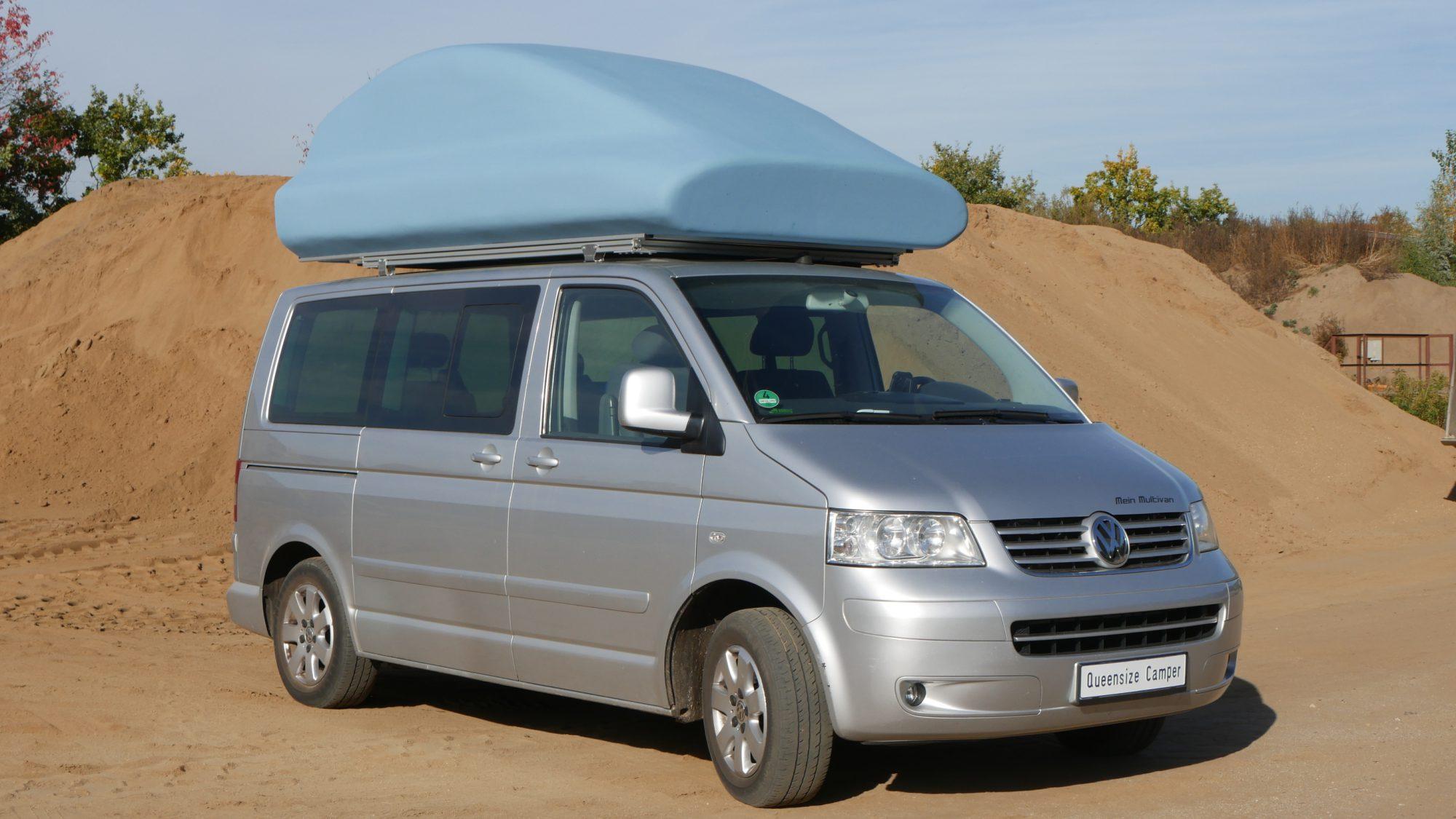VW Bus Camper Queensize_Außen