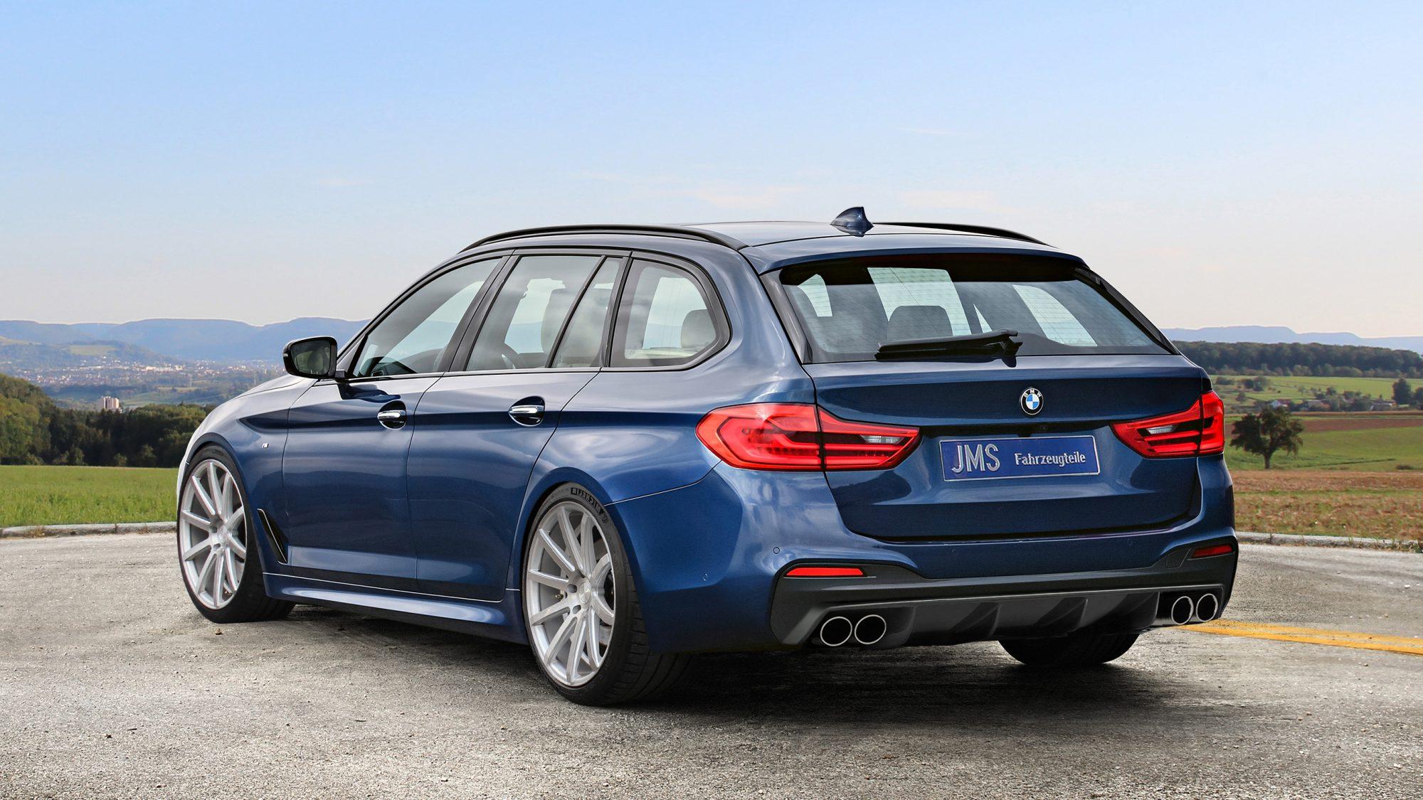 JMS-BMW 5er G31_Heck