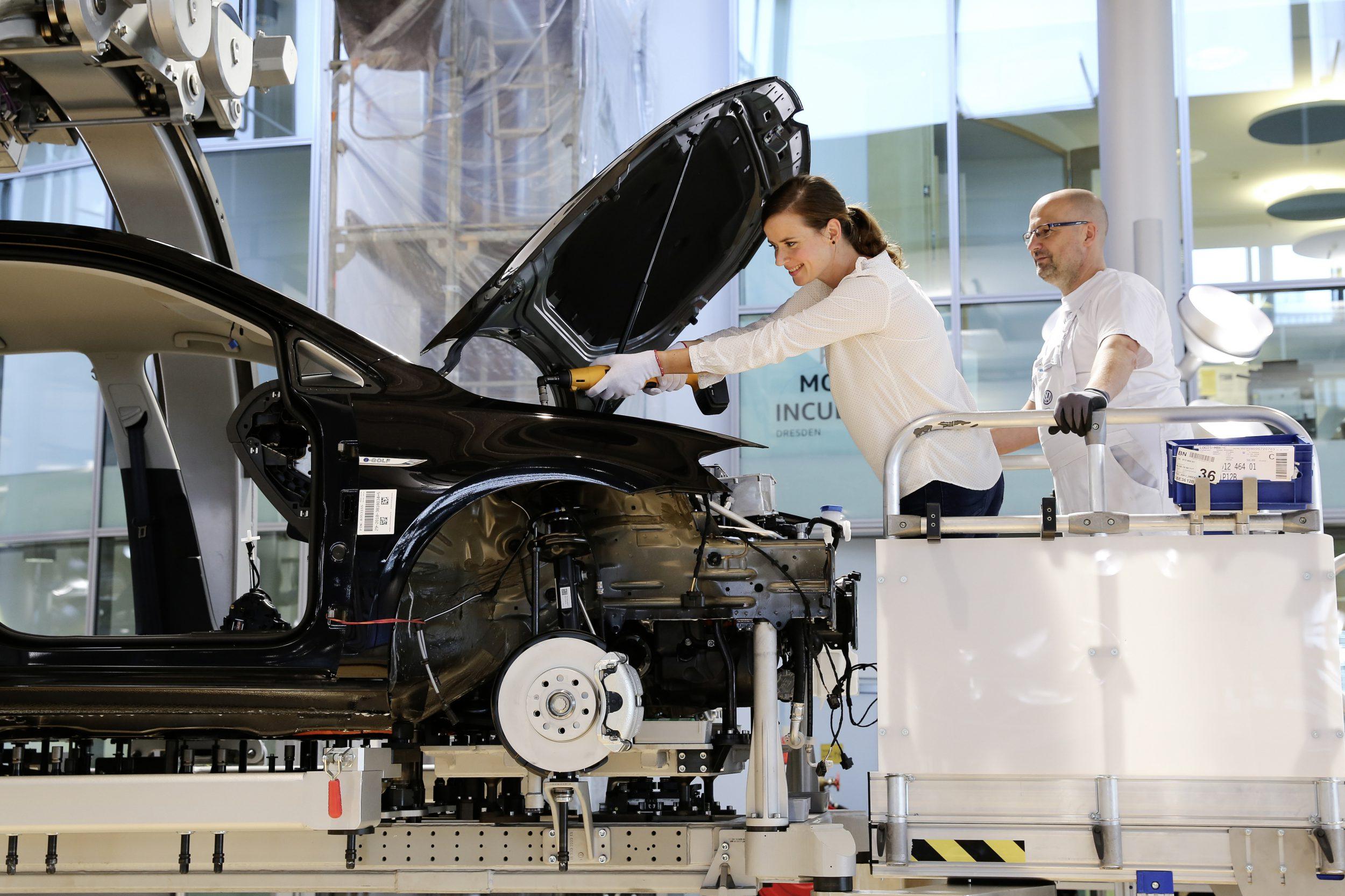 VW e-Golf: Selbst mitbauen
