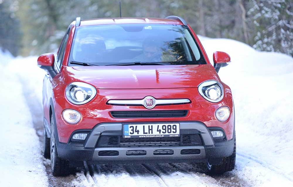 Dizel-otomatik Fiat 500X Türkiye'de
